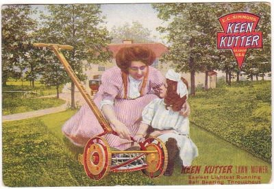 Archived Ad for Keen Kutter Mowers