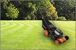 Redback 120 Volt Lawn Mower Now at Mowers Direct