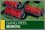 Top-Rated & Best-Selling Gang Reel Mowers
