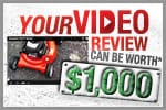 How To Submit Lawn Mower Video Reviews