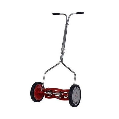 "Great States (16"") 5-Blade Push Reel Lawn Mower"