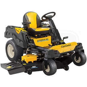 "Cub Cadet Z-Force ZF SX60 (60"") 24HP Kawasaki Zero Turn Mower w/ Steering Wheel Control"