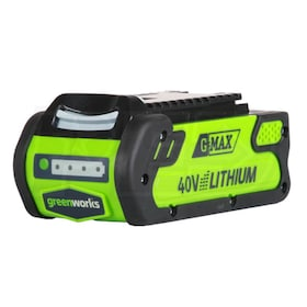 Greenworks G-Max 40-Volt 4Ah Lithium-Ion Battery