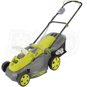 "Sun Joe (16"") 40-Volt Lithium-Ion Cordless Push Lawn Mower (Mower Only - No Battery or Charger)"