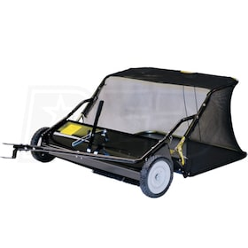 "Precision Products (38"") 12 Cubic Foot Tow-Behind Lawn Sweeper"