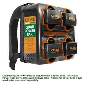 Core Power Quad Power Pack w/ 2 Power Cells