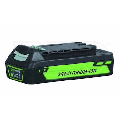 Greenworks 24-Volt Enhanced 2Ah Lithium-Ion Battery