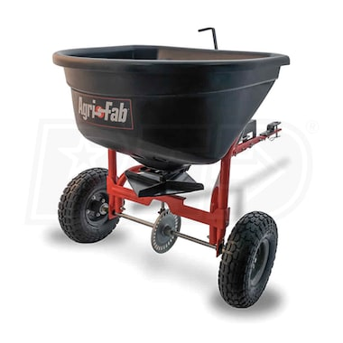 Agri-Fab 110 LB. Tow Behind Broadcast Spreader