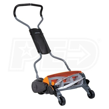 "Fiskars (18"") 5-Blade StaySharp Max Push Reel Mower"