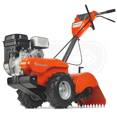 "Husqvarna CRT900L (17"") 205cc Counter Rotating Rear Tine Tiller"