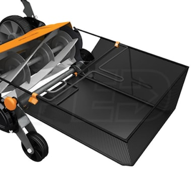 Fiskars Momentum Reel Mower Grass Catcher
