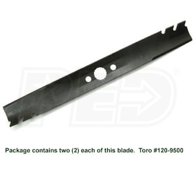 "Toro TimeMaster (30"") Replacement Mower Blades, Set/2"