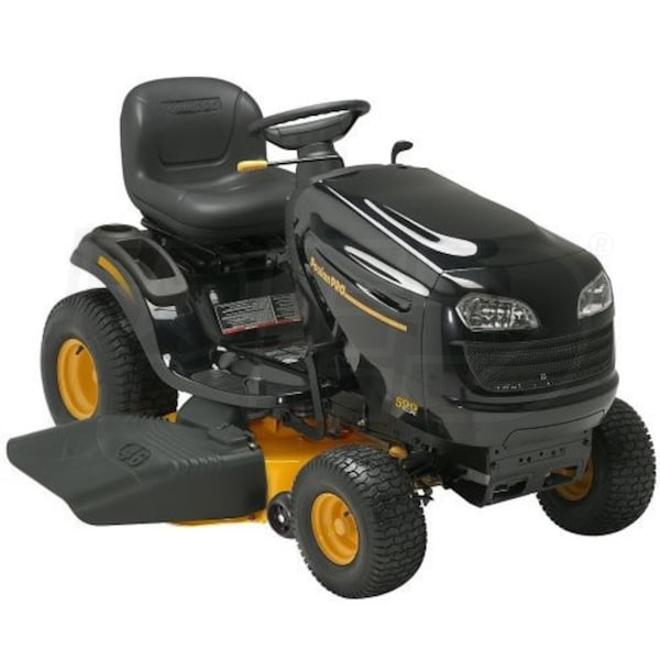 Poulan Pro Pb22h46yt 46 Inch 22 Hp Lawn Tractor